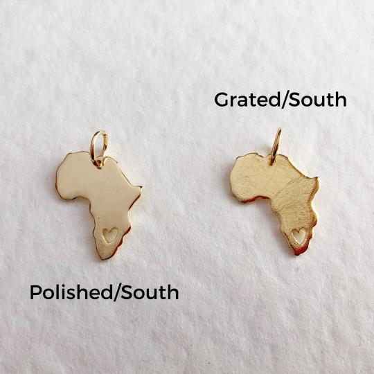 18kt Gold Africa Necklace