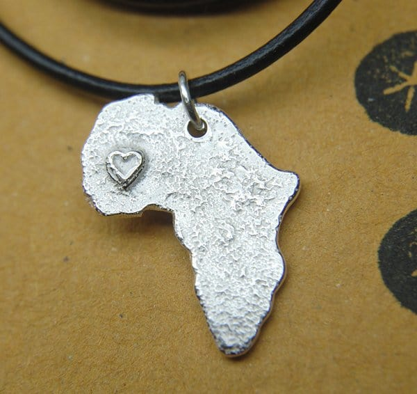 925 Silver Africa Necklace
