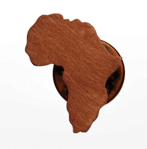africa copper brooch