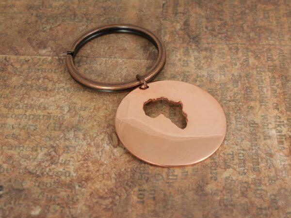 copper Keychain for men