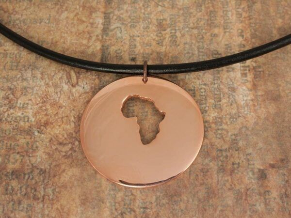 Copper Africa Necklace