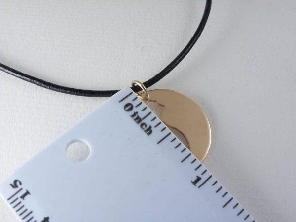 detail gold vietnam necklace map