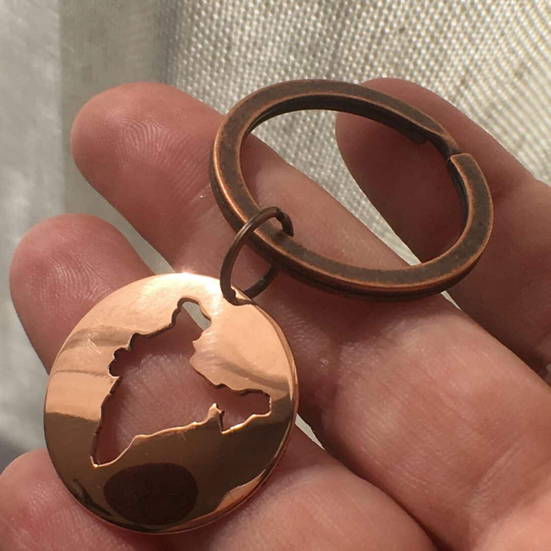 keychain for father gift