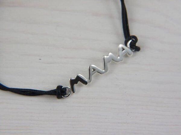 mama silver bracelet