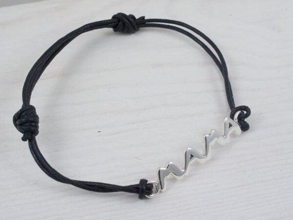 silver mama bracelet