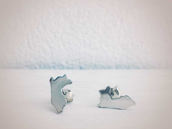 Peru Earrings in silver