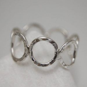 Rounds Silver Ring