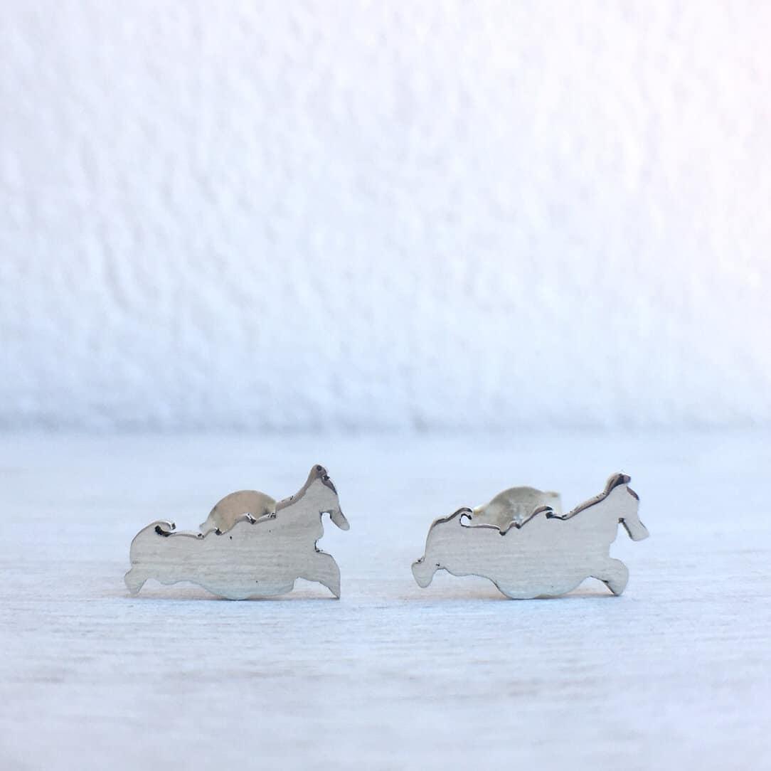 Silver Russia Earrings