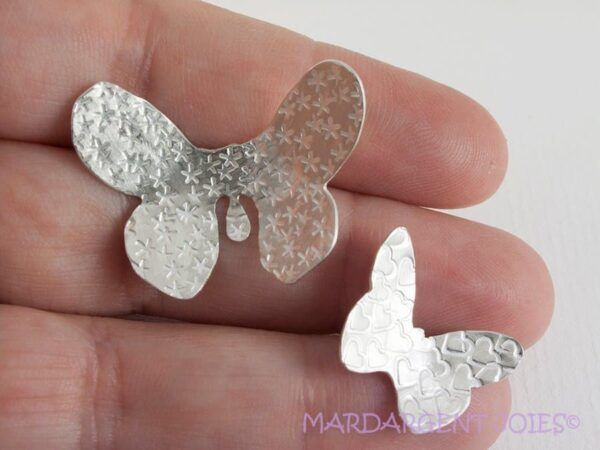 Brooches Butterfly in sterling silver