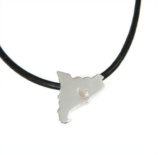Catalunya necklace in silver